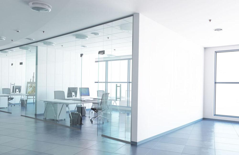 bureaux verre